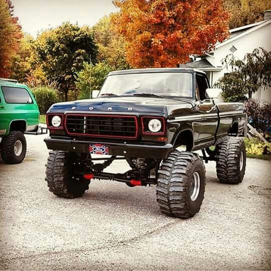 best 25 ford 4x4 ideas on pinterest classic ford trucks. Black Bedroom Furniture Sets. Home Design Ideas