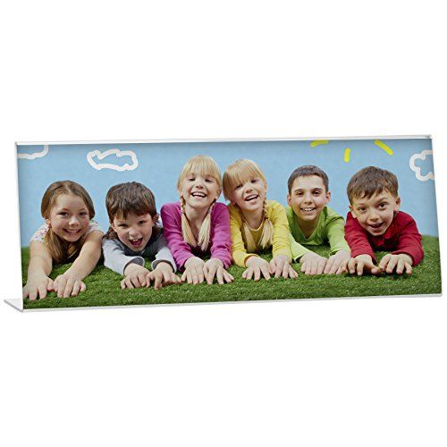 Acrylic Panoramic Frame Bent Easel Picture Frame Pack Of 12 Want