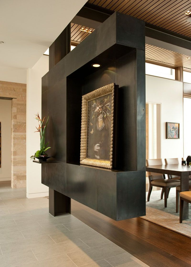 15 Creative Ideas For Room Dividers Modern Interior Design Modern House Design Divider Design