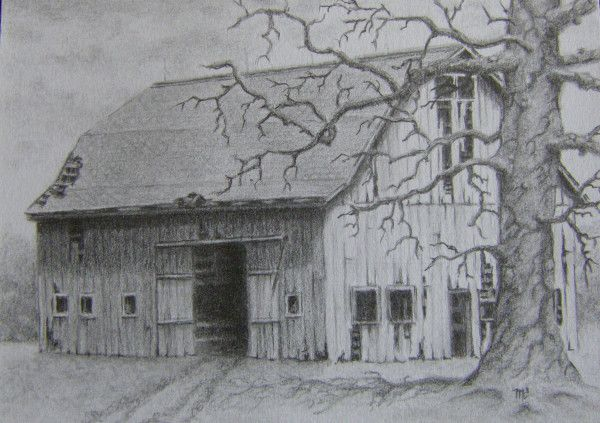 Easy Pencil Drawings Landscape