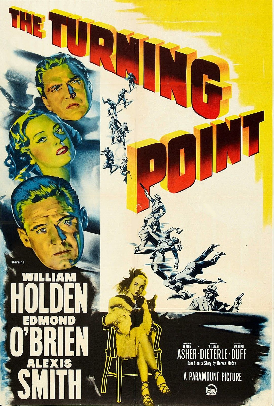 The Turning Point 1952 William Holden Edmond O Brien Alexis