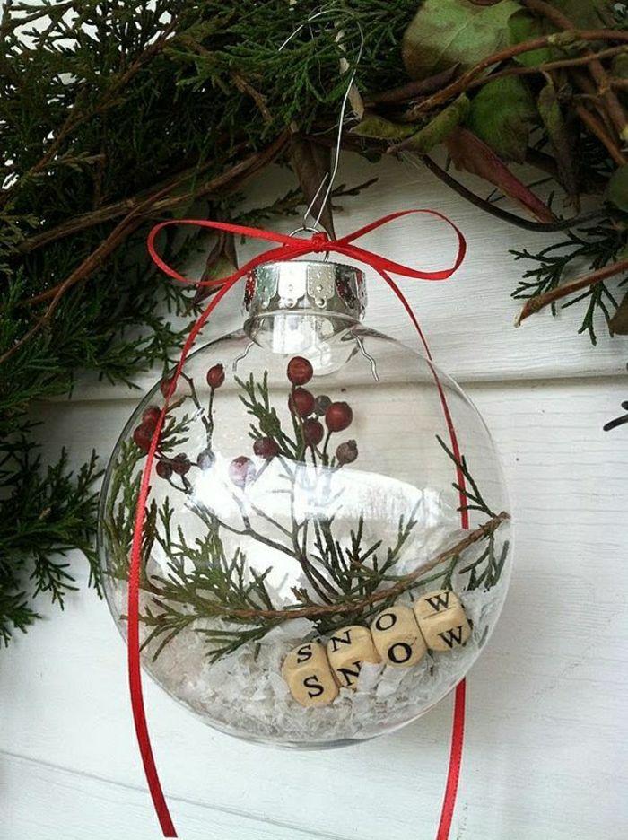 Diy Boule De Noel.48 Diy Idées Pour Créer Une Boule De Noël Originale Diy
