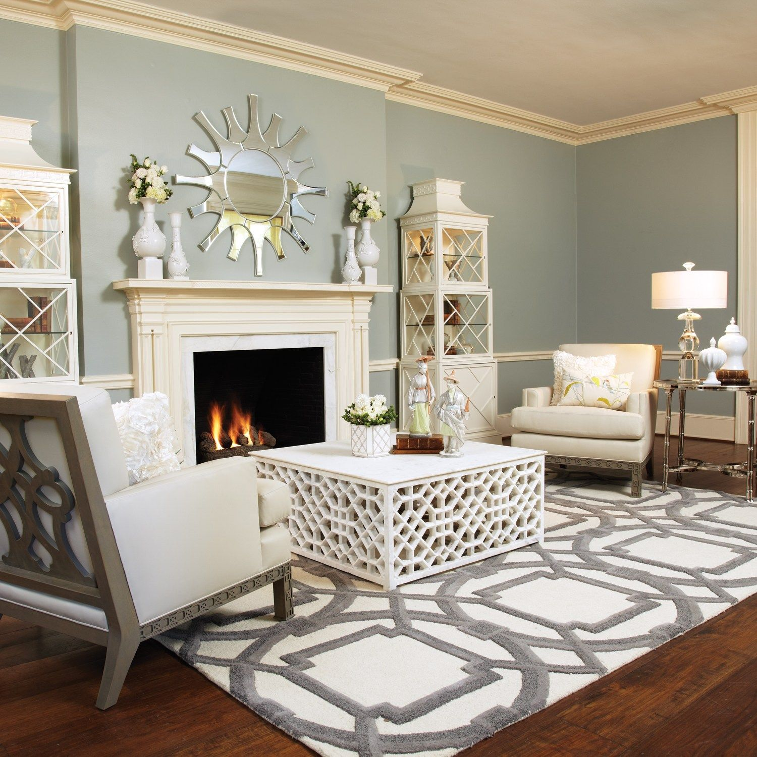 Love the rug #grey