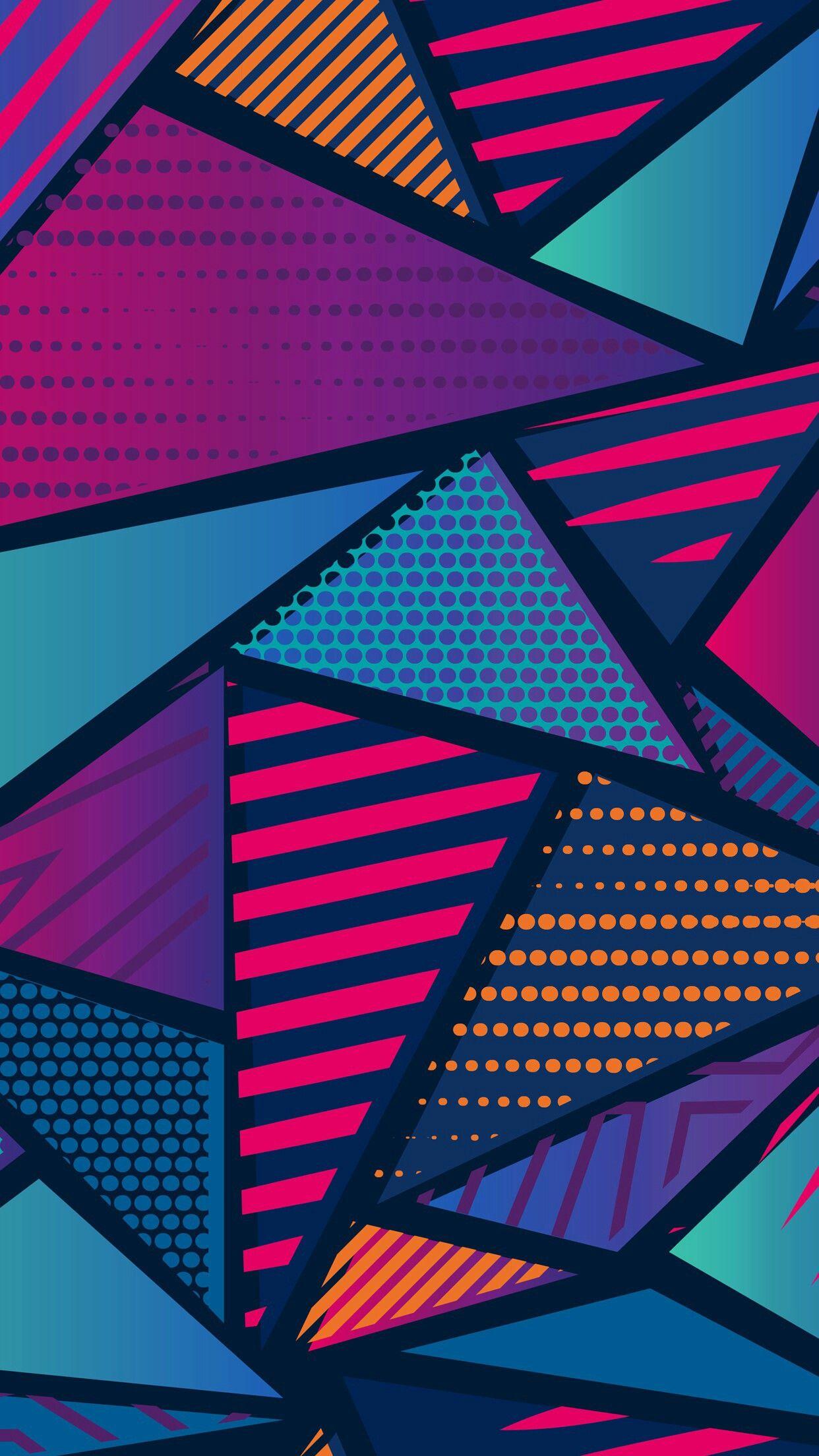 Figuras geometricas | Fondos de pantalla en 2019 | Pinterest | Fondos flasheros, Fondos de ...