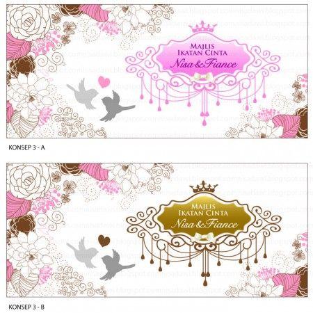 Design Kad Kahwin Unik