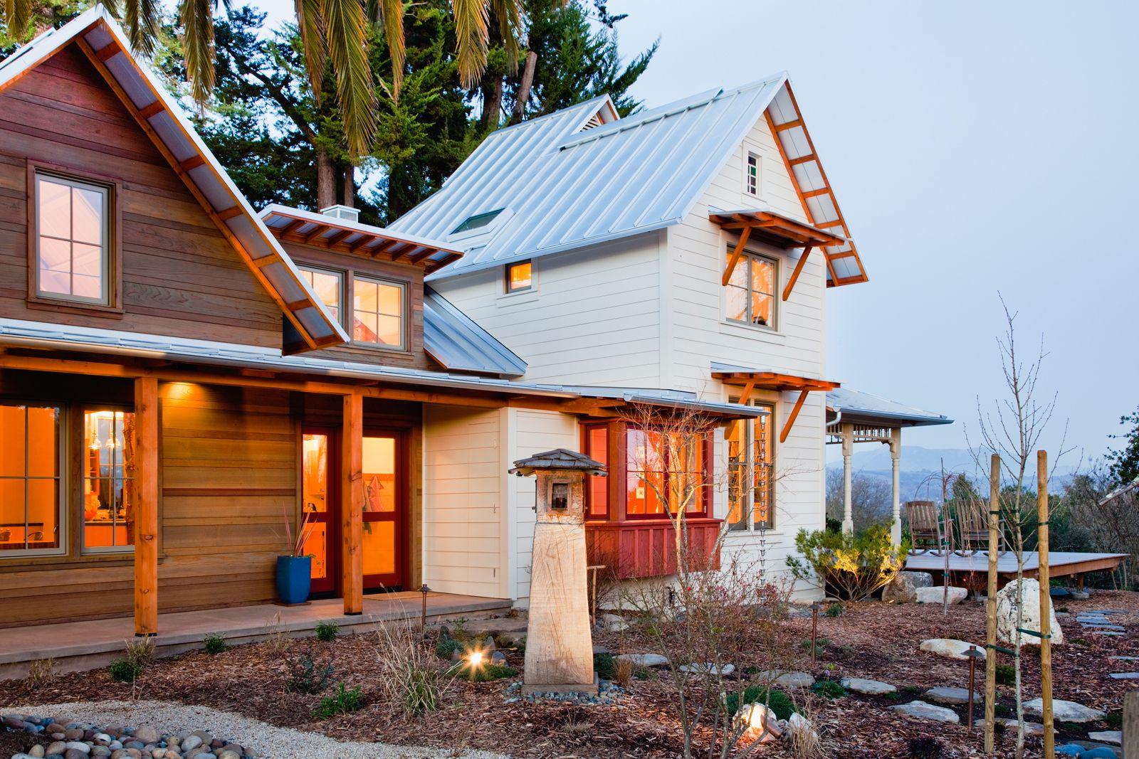 Ideagarden Eco Farmhouse By Jaime Gillin With Images Farmhouse Exterior House Exterior Beach House Decor