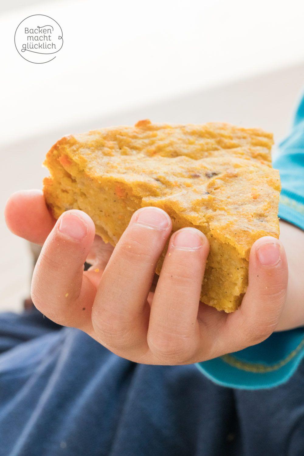 Apfel Mohren Kuchen Ohne Zucker Rezept Backen Mit Kindern