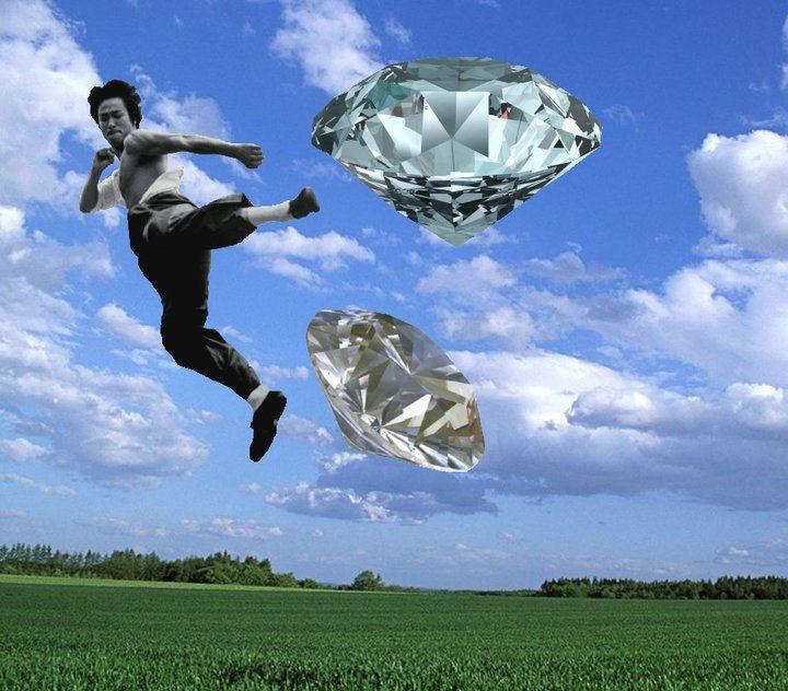 Bruce Lee In The Sky With Diamonds By Elizabeth Peterson Landmarks Bruce Lee Natural Landmarks