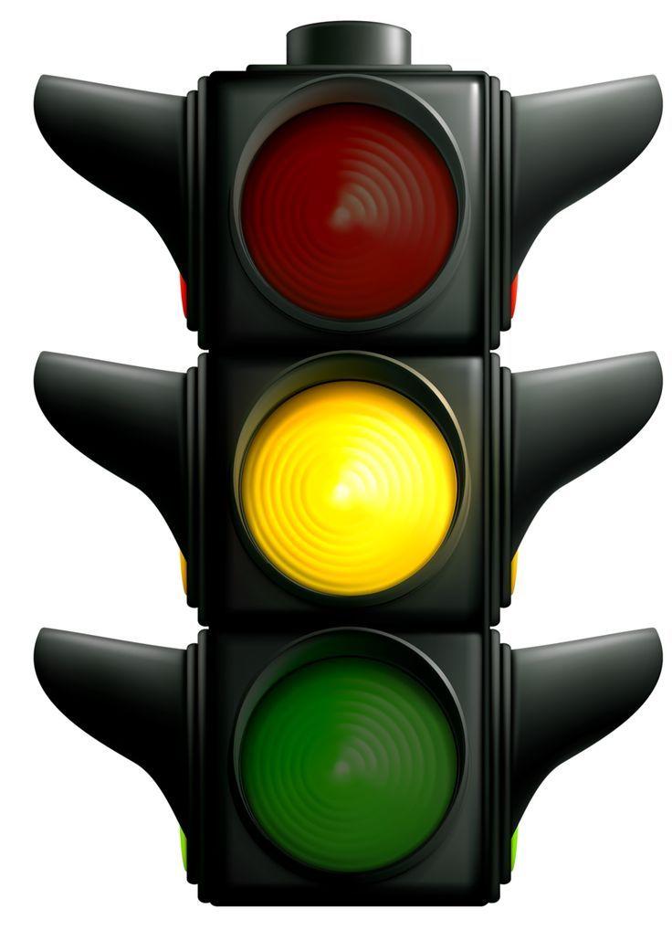 11+ Traffic light clipart green information