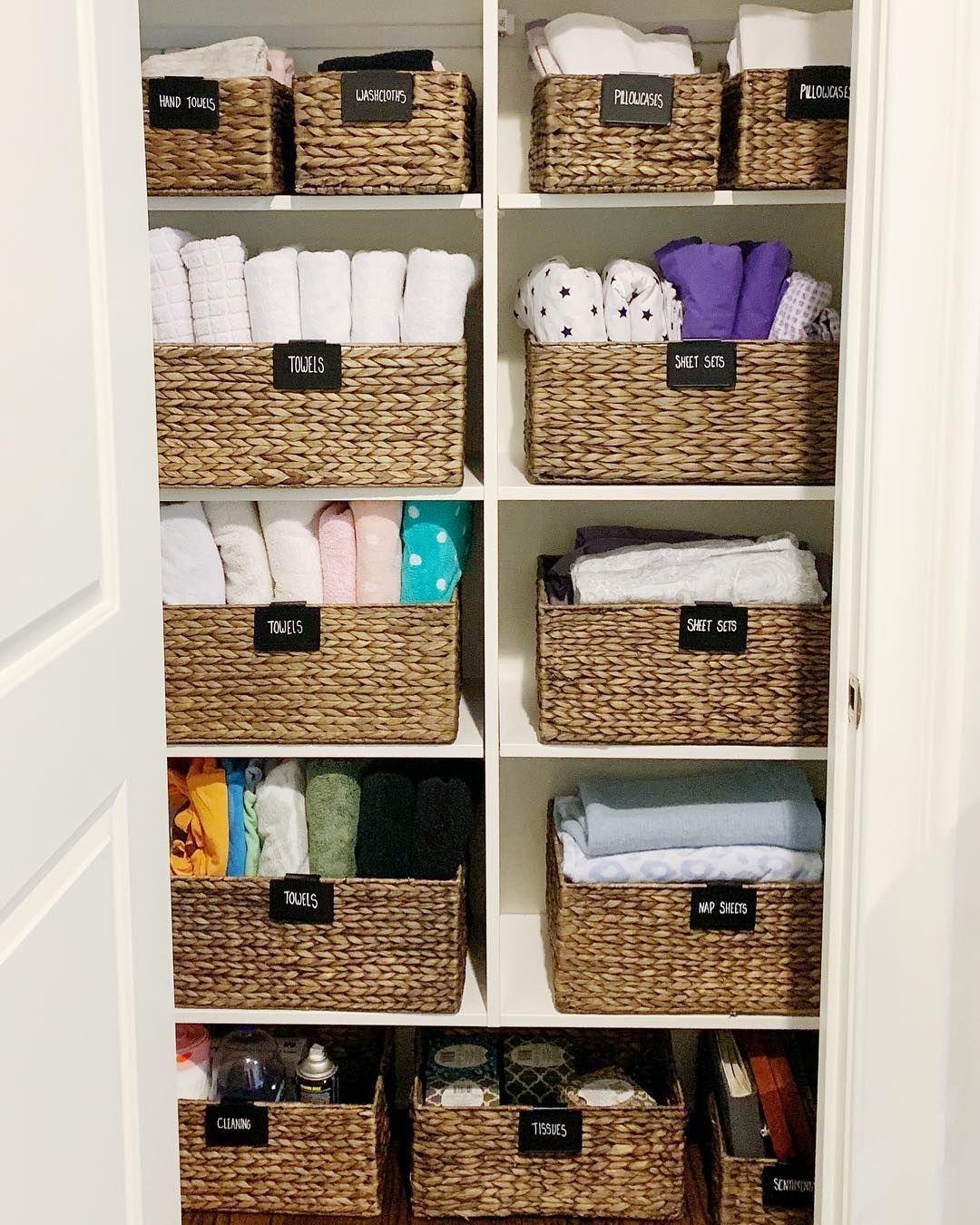 Photo of 11 Wäscheschränke auf Instagram, die Sie dazu inspirieren, Ihre endgültig zu organisieren