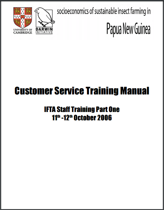 41 Training Proposal Templates In Pdf Manual Guide