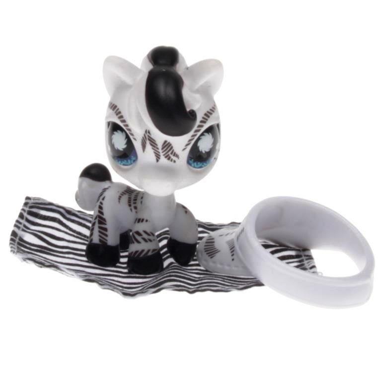 Littlest Pet Shop Postcard Zebra with Hat//Visor /& Blanket #903 VHTF NIB Retired