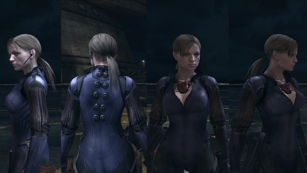 Jill Valentine Resident Evil 5 Battle Suit Jill Valentine