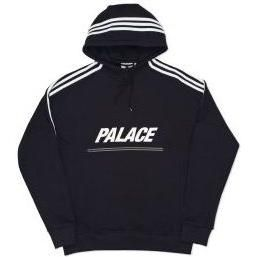 3ce120da770f Adidas x Palace Hoodie Black as seen on The Weeknd