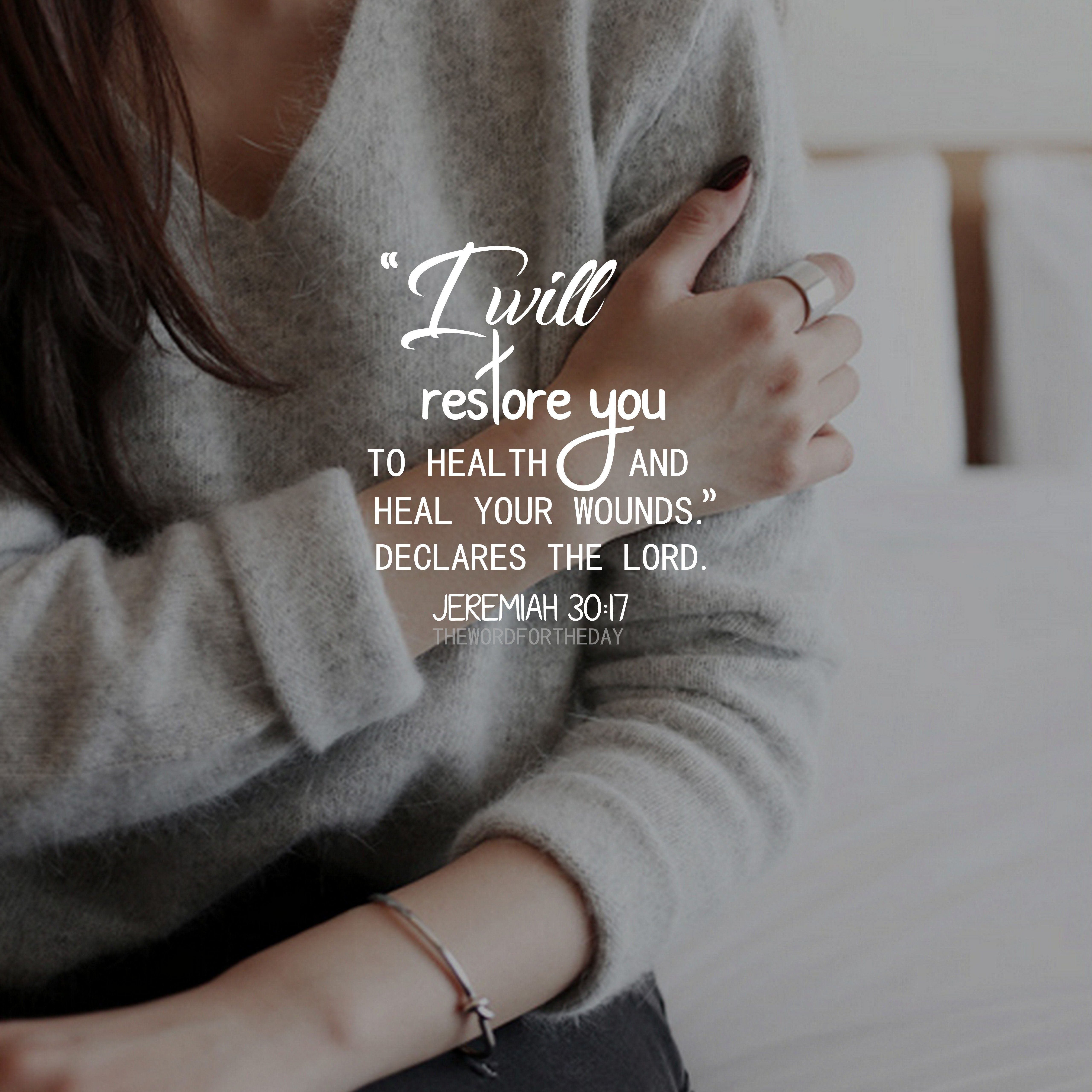 Bible Verse Quotes About Healing