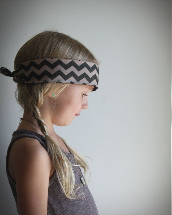 Aztec Bandana headband southwest geometric fabric . tribal hair accessories  . little girl headband . cowgirl . bandana ..   14.00 a6967237587