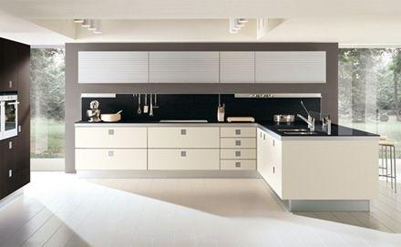 15 cocinas blancas de estilo minimalista - Cocina Minimalista