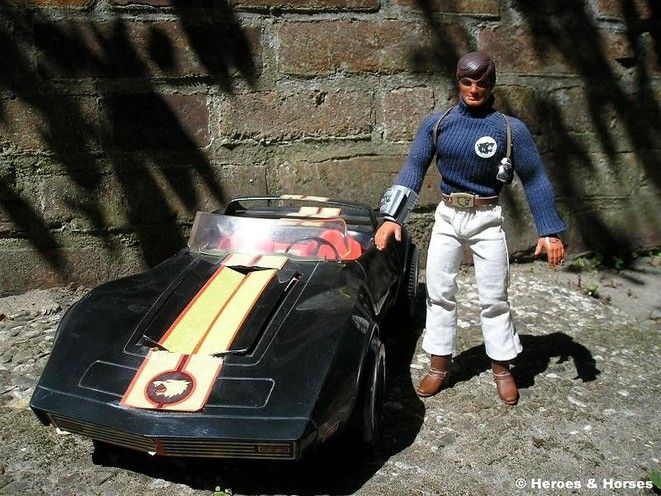 Big Jim from P.A.C.K. and his LazerVette