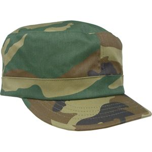 Woodland Camouflage - Womens Adjustable Fatigue Cap (Cotton Polyester  Twill) - Army Navy Store 251e686a43
