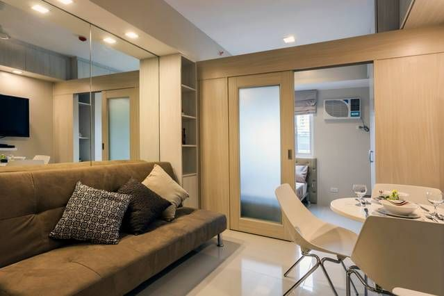 Well lighted and ventilated the sqm apartment is perfect for  single person or couple sharing one bed complimentary wifi cable tv are included also rh pinterest