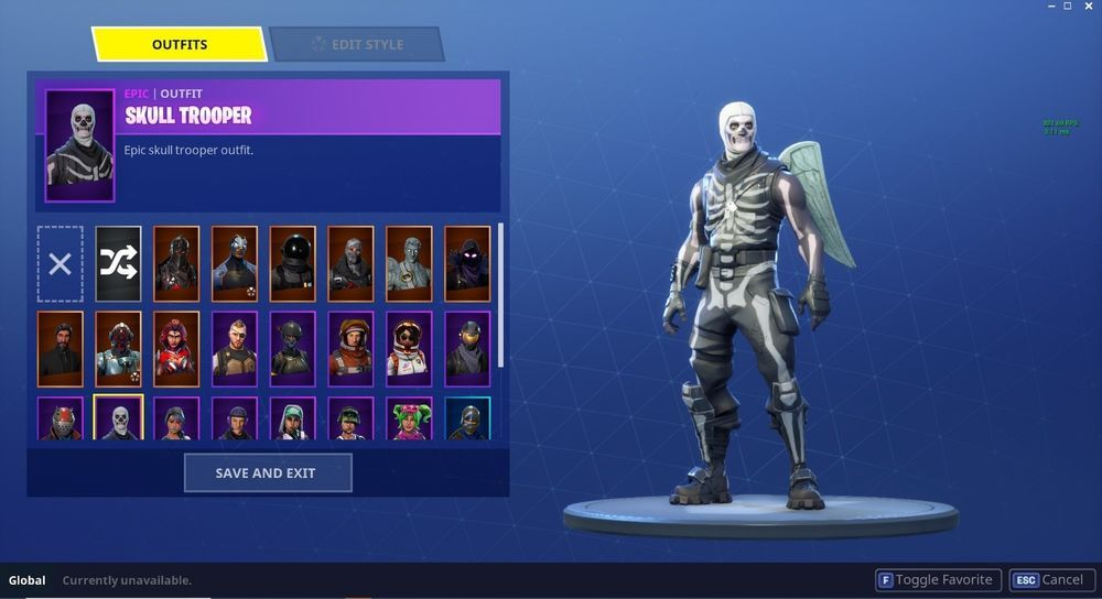 Skull Trooper Account With Black Knight Fortnite Battleroyale