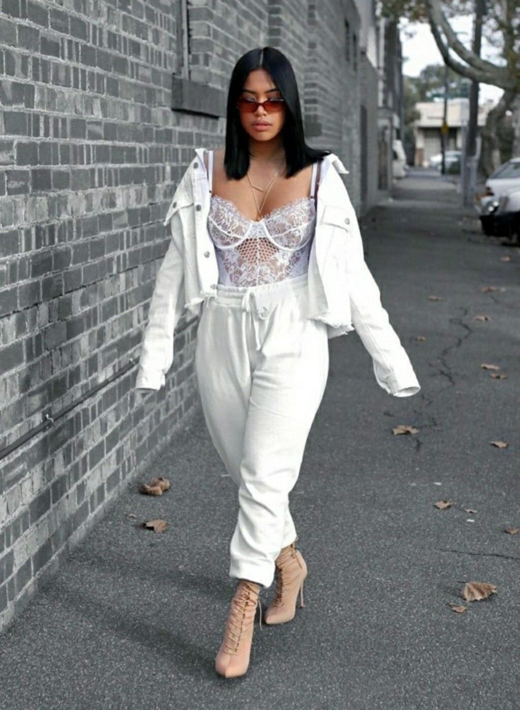 Image result for women's white outfit pinterest
