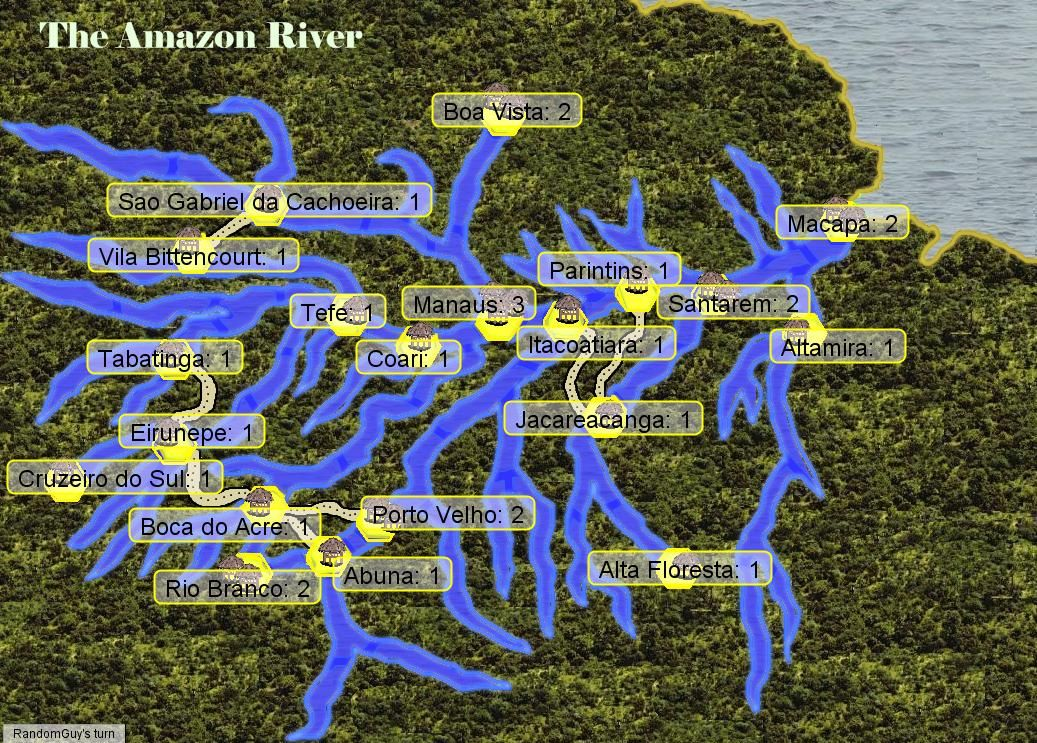 Worlds Longest Rivers Map%0A Amazon River Map