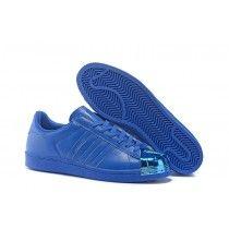 cheaper 31924 fceb6 Adidas Originals Superstar 80s Pharrell Williams x Supercolor Zapatos azul  Metallic S41814 casuales Trainers