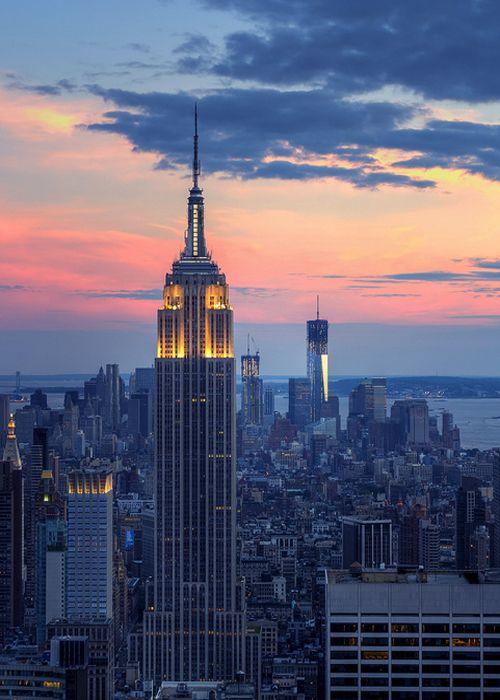 Beautiful View Of New York City S Skyline Highlighting