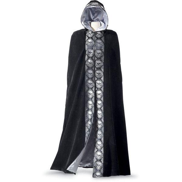 Velvet Skull Costume Cape - Women\u0027s Romantic  Fantasy Inspired - romantic halloween ideas