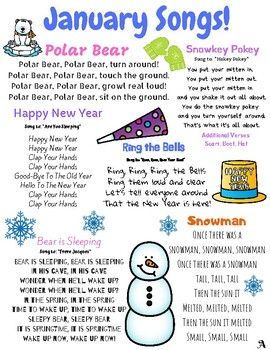 january songs year itscold kindergarten songs classroom songs preschool songs