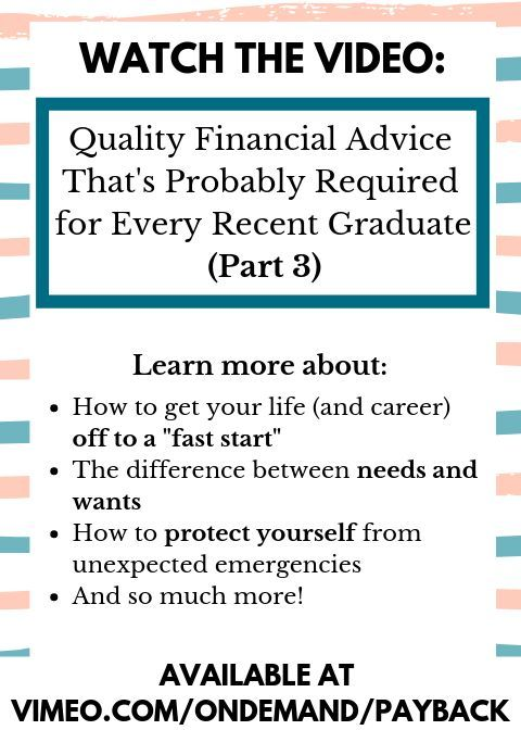 Ideal if you ve been searching for  Recent Graduate  Tips