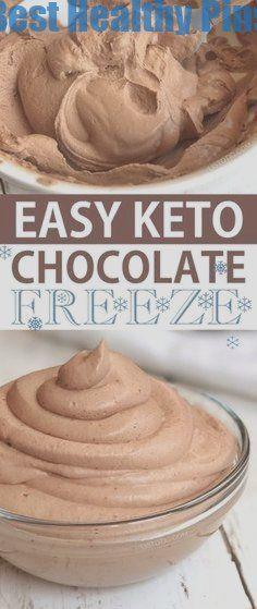 Easy Keto Chocolate Frosty (genau wie Wendy's) | Dieser schnelle und einfache Low Carb ...  #chocolate #dieser #einfache #frosty #genau #schnelle #wendy #KetoRezepte #chocolatefrosty