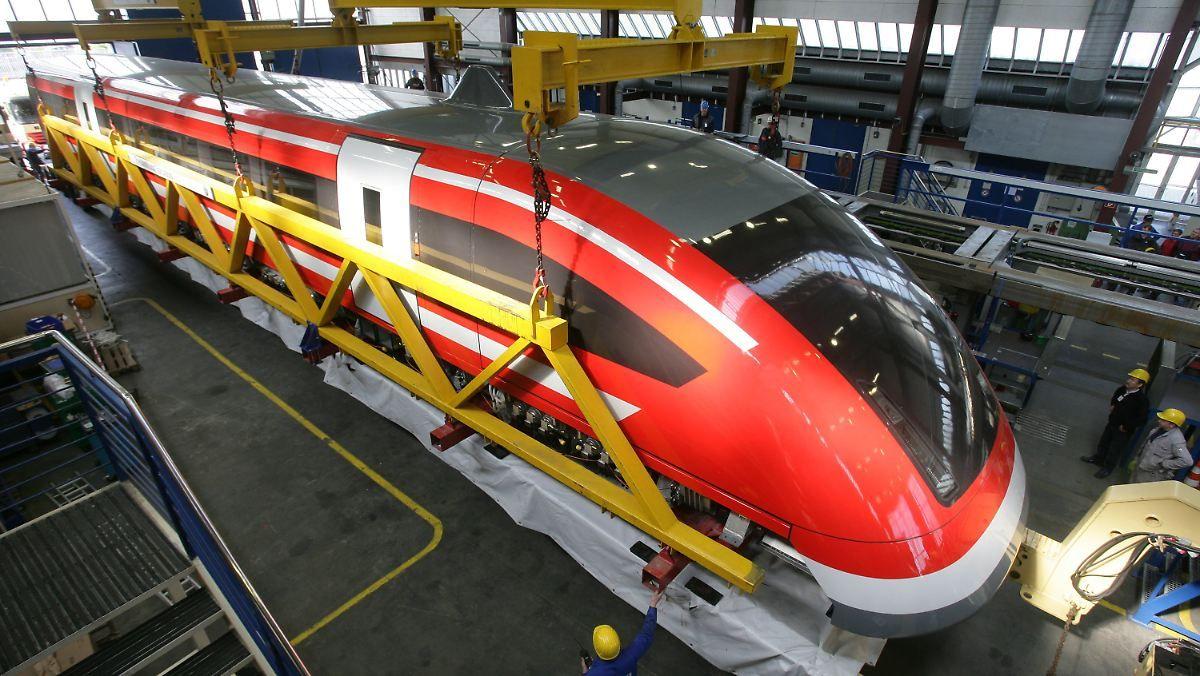 Der Zug ist abgefahren: Letzter Transrapid landet in Fleischfabrik