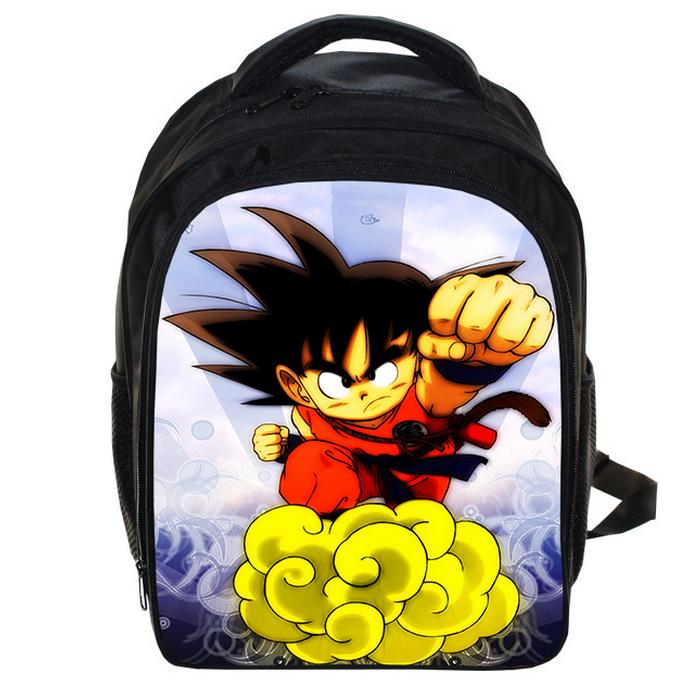 13428f5d5dce 13 Inch Dragon Ball Z Backpack Sun Goku Kids Backpack Children School Bags  Boys Girls Daily