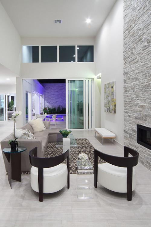Modern home by phil kean design group