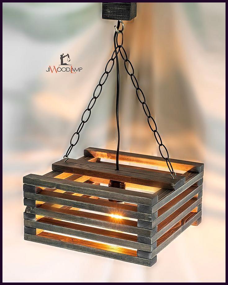 Wooden Hanging Lamp Pendant Lighting Wood Lamp Ceiling Wood Lamp