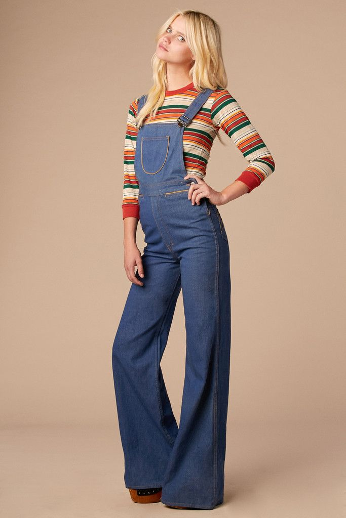 0f5338b464 Summertime Blues 70 s Overalls from  stonedvintage  vintage  denim ...