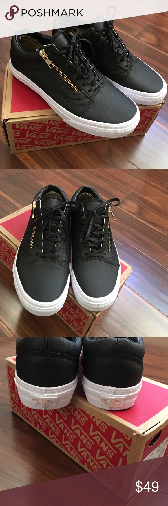 vans old skool black women 4.5