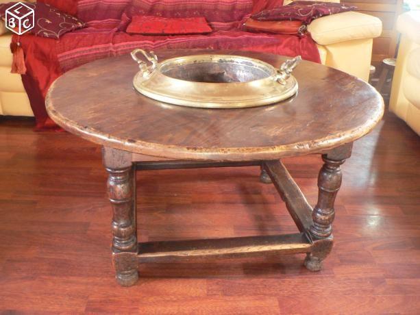 table basse ancienne brasero brasero chauffage de jardin pinterest brasero tables basses. Black Bedroom Furniture Sets. Home Design Ideas