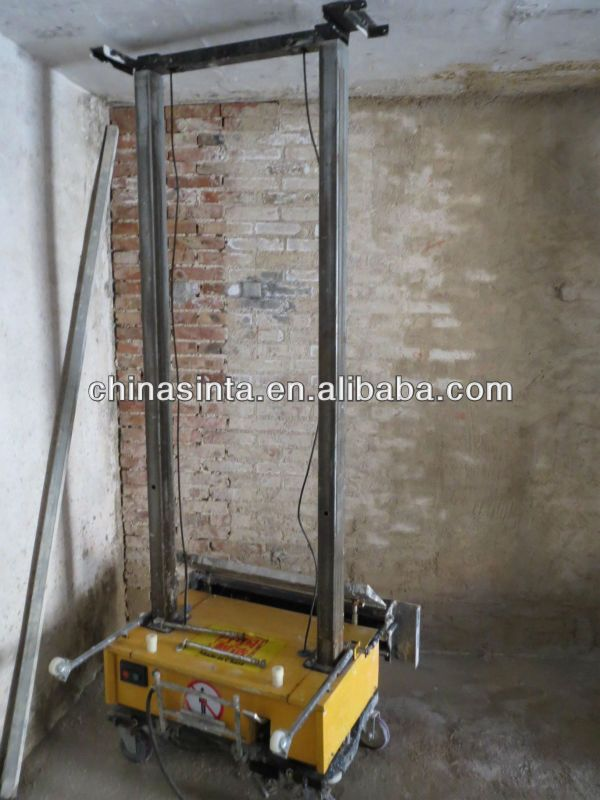 Pin By Mvb On Auto Rendering Plastering Machine For Wall Plaster Walls Wall Cooling Tower