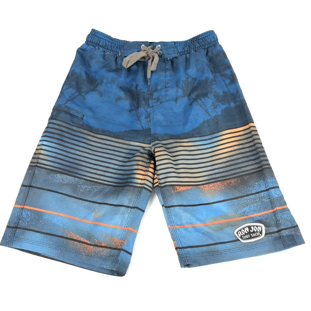 ughbhjnx Kids Tropical Beach Slim Fit Swimming Trunks Solid Board Shorts
