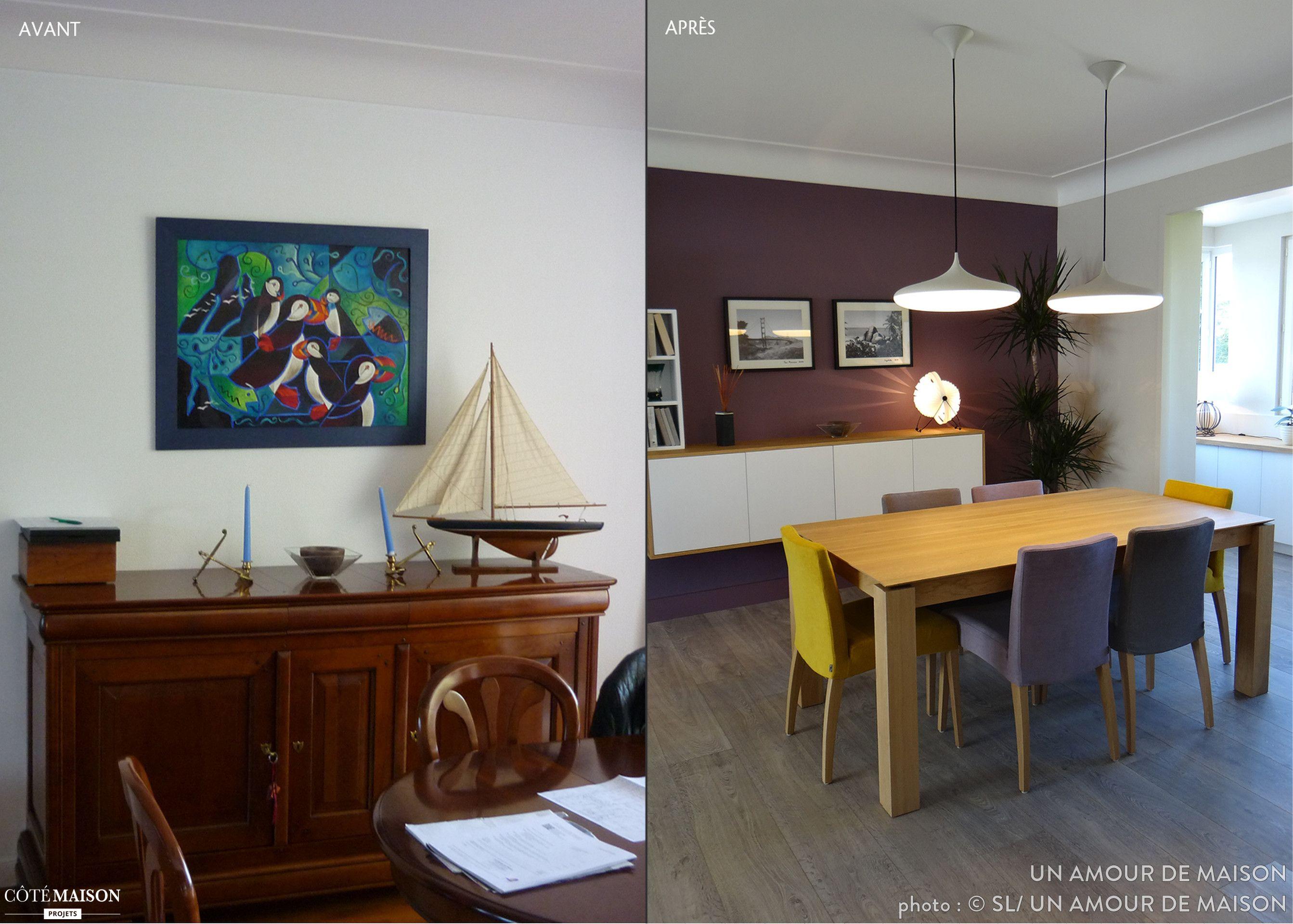 Un intérieur réinventé, UN AMOUR DE MAISON - Côté Maison | Déco ...