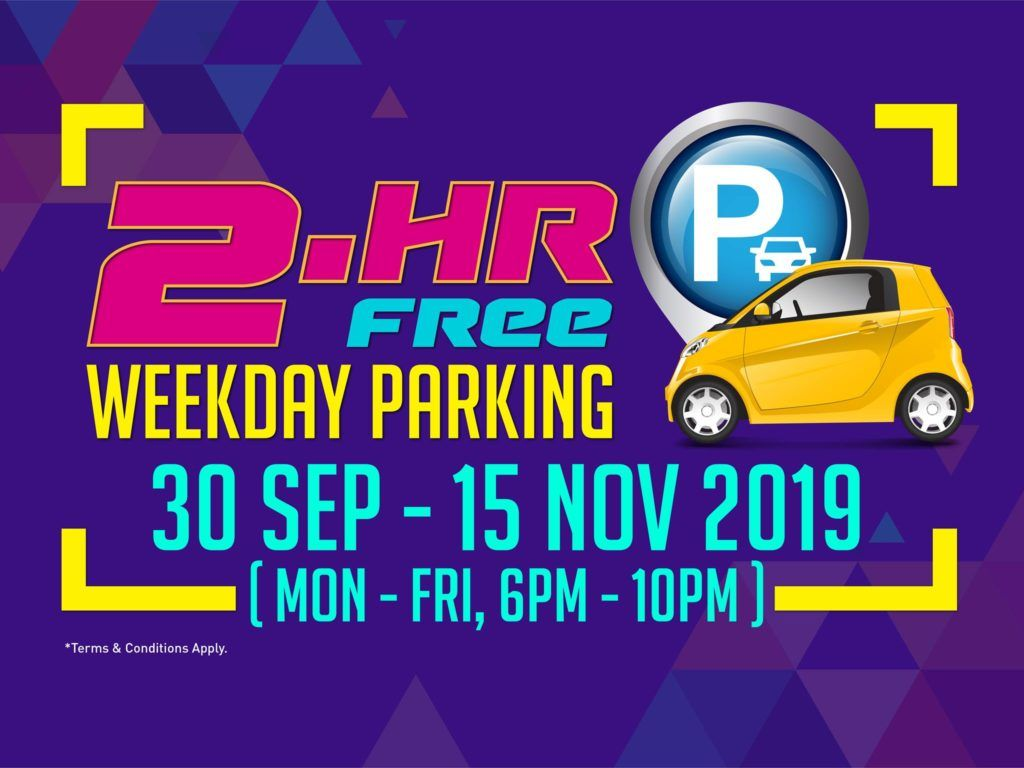 Jurong Point Singapore Spend 30 Get 2 Hour Free Parking Promotion Ends 15 Nov 2019 Love Is Free Promotion Deal