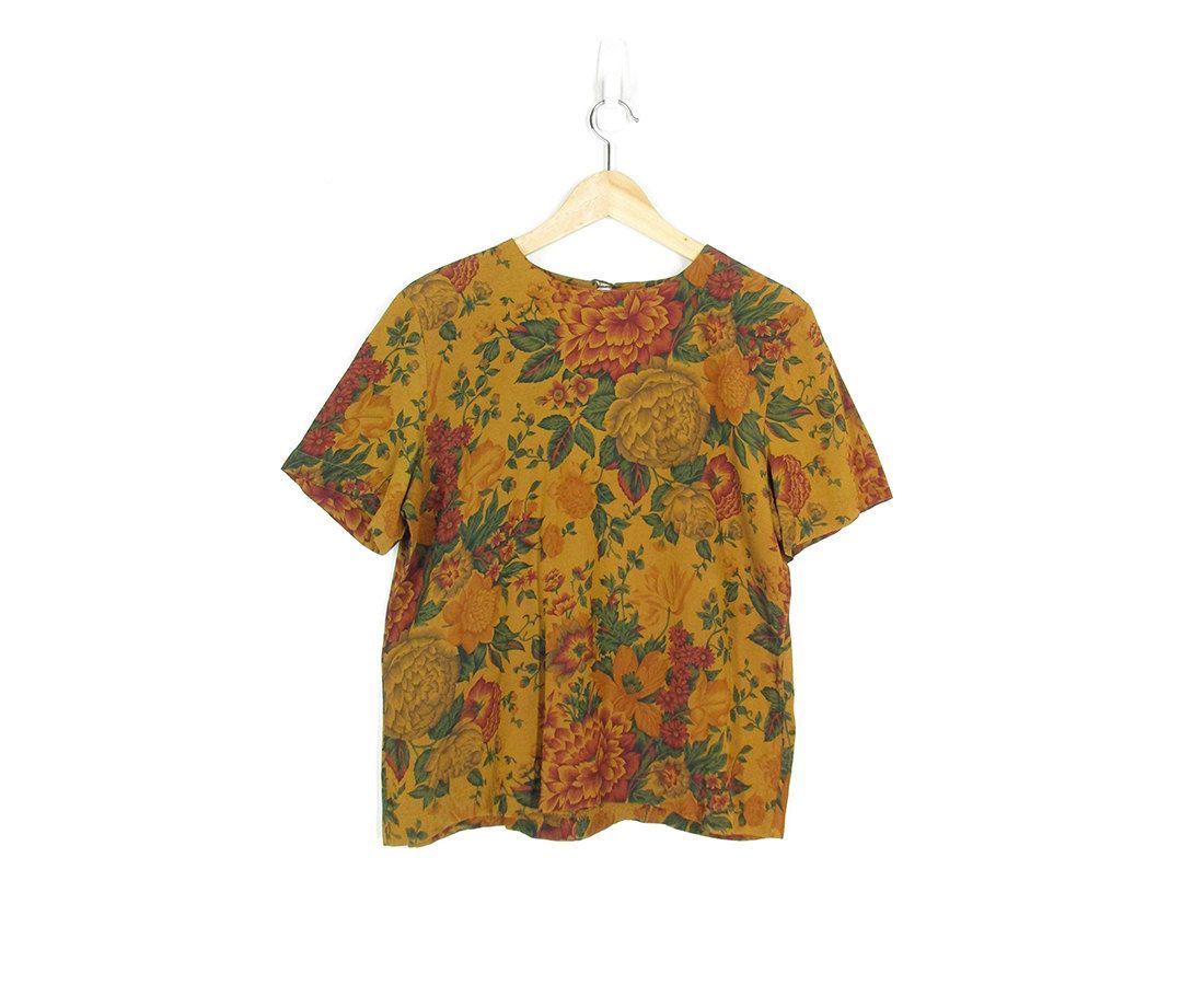 c7d7bdd3f5943 Vintage Floral Blouse