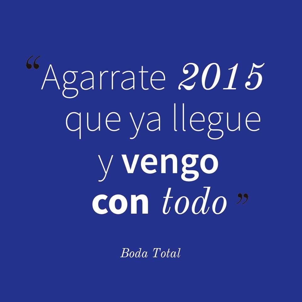New Year Couple Quotes: ¡Feliz Año Nuevo! #2015 #FilosofíaBodaTotal