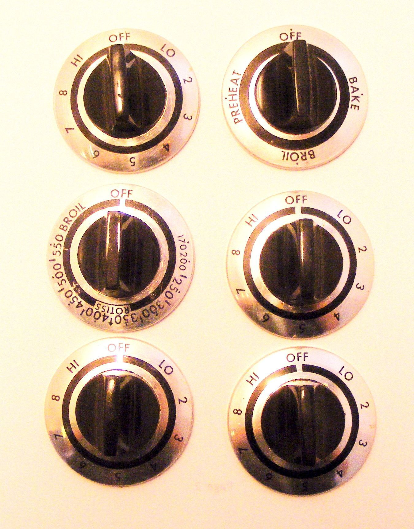 302817 302818 641179 ge kenmore range knob set products
