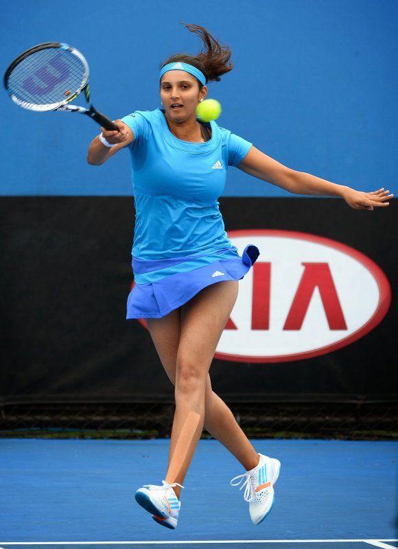 Hot Tennis Sensation  Sania Mirza  Women  Tennis -6460