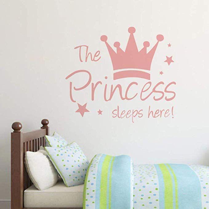 Wandtattoo Princess Wand Aufkleber Wandsticker Für Mädchen