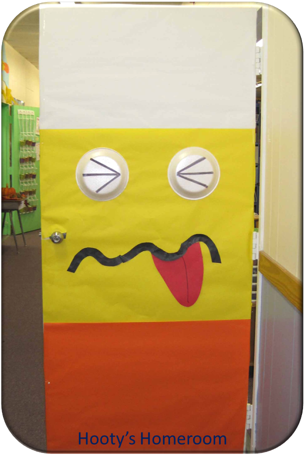Candy Corn Monster Classroom Door Teaching Teach